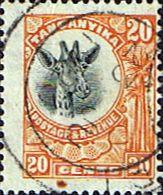 Tanganyika 1922 SG Giraffe SG 77 Fine Used Scott 15 Other African Stamps HERE
