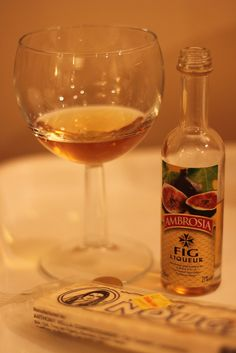 Ever since visiting Malta and experiencing the joy of a fig liqueur and nougat pairing, I have oft fantasized about having it again. Alas, there is no fig liqueur to be found in Halifax. I shall continue to dream.