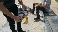 Banana Peel Board #skate #skateboard #skateboarding #banana #boards #skating #skatepark