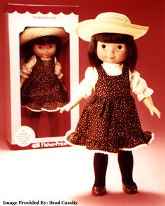Fisher Price Jenny ~ She was one of my favorite, most played with dolls. I had Jenny and my cousin had Mandy.