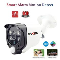 Outdoor HD Security Camera 20MP 1080P HD AHD Camera with Alarm Camera System Heat Based Motion Detection Home Security Camera System100ft IR Distance ** Click on the image for additional details. Note: It's an affiliate link to Amazon
