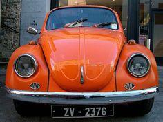 An Orange Beetle    Car photo Car Colors, Colours, Beetle Car, Orange Is The New Black, Vw Beetles, Happy Colors, Car Photos, Pantone Color, Orange Color