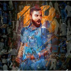 Virat Kohli 11 years in international cricket. Cricket Time, Cricket Sport, Cricket News, Big Cats Art, Cat Art, Happy Birthday King, Virat Kohli Instagram, Cricket Coaching, Ms Dhoni Wallpapers