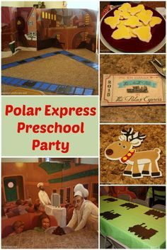 Polar Express Party for Preschool - Decorations, games, treats, crafts and free printables! events to CELEBRATE!