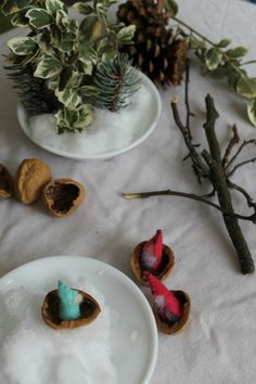 A simple Waldorf inspired winter nature table. Full of nature learning and science investigations too!