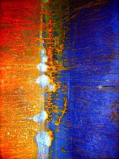 blues & aquas - images - josh martin . photographs abstract art photo canvas modern industrial urban decay rust print