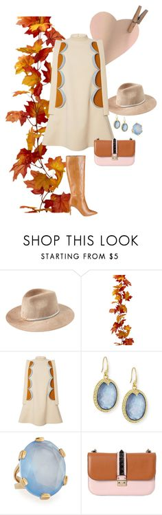 Camel by yaninna-diaz on Polyvore featuring moda, Delpozo, Valentino, Armenta, Stephen Dweck and Eugenia Kim