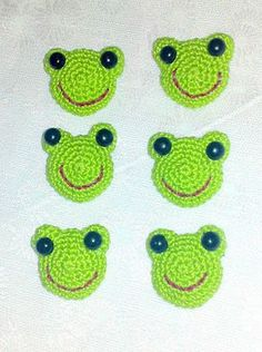 Cute Frog Motif: free pattern