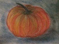 Pumpkin. Pastel