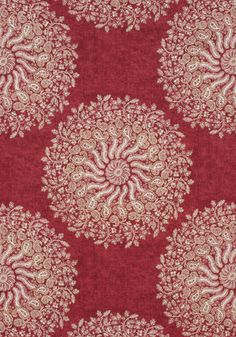 LA PROVENCE, Red, AF78728, Collection Palampore from Anna French