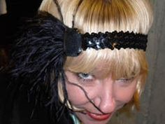 Flapper headband instructable - Gatsby