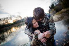 Kankakee River State Park Engagement Photography | Melissa & Jeff Photo