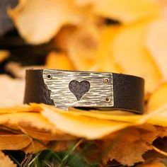 Montana Love Leather Bracelet By Poisonberry Jewelry from The Montana Shop