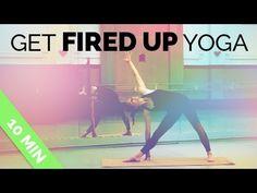 Wake Up Yoga - Yoga for Energy Morning Yoga Routine (10 Min) - YouTube