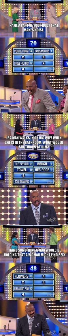 Family Fued funny answers