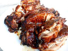 Slow Cooker Parmesan Honey Pork Roast on SixSistersStuff.com