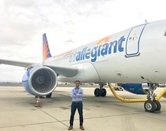ICYMI: Meet Allegiant's First Flight Operations Performance Engineer Allegiant Air, Jet Air, Air Charter, Aerospace Engineering, Private Jet, Jets, Aviation, Commercial, Photography