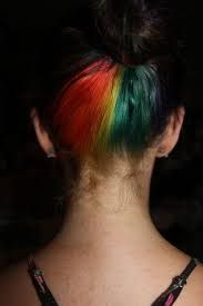 Rainbow Under-Layer Hair - Love this! Sassy enough, but with a touch of subtlety. Under Hair Color, Hidden Rainbow Hair, Girly Things, Girly Stuff, Hair Dye, Layered Hair, Hair Hacks, Hairdresser, Hair And Nails