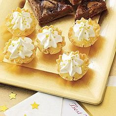 Lemon Tarts | MyRecipes.com