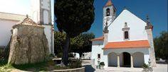 Dolmen de Alcobertas e Igreja de Santa Maria Madalena, Rio Maior, Portugal