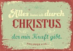 Mini - Alles kann ich durch Christus
