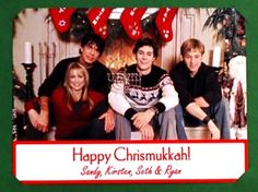 you can't ruin chrismukkah.. it has twice the resistance of any normal holiday.