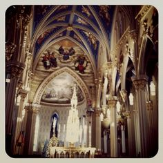 The Basilica at Notre Dame... my most favorite place in all of Paris
