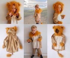 Löwe 8-9 Jahre,  Kinder Kostüm Löwe, Löwe, lion von maii-berlin auf DaWanda.com