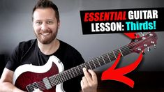 Today we tackle one of my favorite guitar concepts - Thirds! These are a fantastic way to inject creativity in your your riffs and lead playing! Guitar Tips, Guitar Lessons, Backing Tracks, Rock Songs, Guitar Parts, Music Theory, Itunes, Videos, How To Become