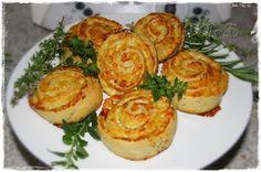 Kräuter Käse Schnecken