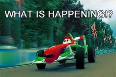 Me when I first saw the Cars 3 teaser