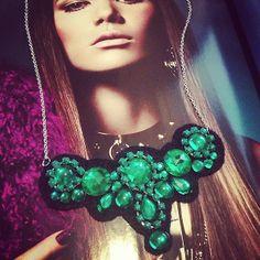 VJuliet: DIY Emerald Necklace