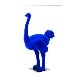 Statue Autruche Bleue - Animal en resine - 120 x 180 x 75 cm Description du modèle :Autruche, très réaliste de couleur bleu, floquée, hauteur 1,80 mètreCaractéristiques :Référence du modèle : ART063Marque :Anim'ArtDimensions : 120 x 180 x 75 cm (Longueur x hauteur x largeur)Poids : 38 Kg