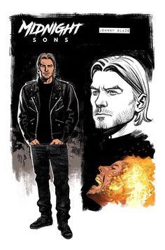 ghost rider by Greg Smallwood Marvel Comic Books, Comic Books Art, Comic Art, Superhero Characters, Comic Book Characters, Midnight Son, Superhero Design, Superhero Ideas, Ghost Rider Marvel
