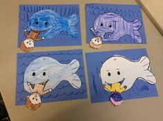 Jonah and the Whale craft. Easy and fun!