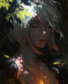 """Drawing Portraits - mystery-of-silence: """"Fairy by GUWEIZ """" Discover The Secrets Of Drawing Realistic Pencil Portraits.Let Me Show You How You Too Can Draw Realistic Pencil Portraits With My Truly Step-by-Step Guide. Art And Illustration, Character Illustration, Art Illustrations, Art Manga, Art Anime, Anime Kunst, Fantasy Girl, Chica Fantasy, Fantasy Forest"""