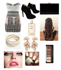 """""""Friday nights with the babes"""" by kileighgrace ❤ liked on Polyvore featuring Giuseppe Zanotti, Charlotte Olympia, ZooShoo, Pasquale Bruni and Maybelline"""