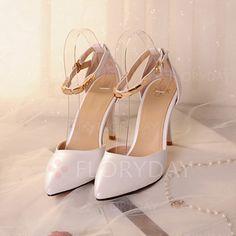Zapatos - $40.31 - De mujer Salón Cerrados Tacones Tacón stilettos Cuero Zapatos…