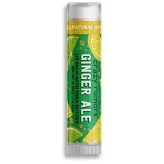 Balzám na rty Ginger Ale Ginger Ale, Shea Butter, Lip Balm, Lip Gloss, Wax, Lips, Lemon, Gloss Lipstick, Eos Lip Balm