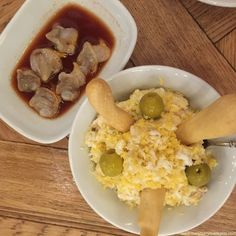 Berberechos y ensaladilla rusa en Bar Bas.