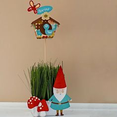 Heather Greenwood aka Scrap Happy Hippie: Another Birdhouse and a Gnome
