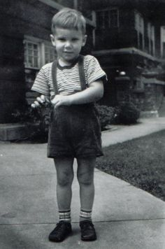 Harrison Ford. Adorable little boy.