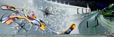Piece By Amour - Palaiseau (France) - Street-art and Graffiti | FatCap