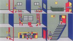 Animator Nicolas Ménard creates looping idents for Canadian TV channel Vrak #color #illustration