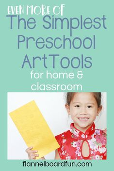 Two super simple tools and materials to add to your art area, or use at home with your preschoolers.  These are basic materials that provide lots of fine motor fun! #earlylearning #earlyyears #earlychildhood #finemotoractivities #preschool