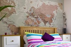 Executive World Map Wallpaper, WM816, Maps International