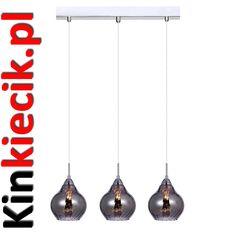 Lampy trzypłomienne - Lampy Bialystok, światło dla domu biura i ogrodu, Kinkiety, żyrandole, oświetlenie, Lampy, plafony, oświetlenie zewnętrzne i wewnętrzne nowoczesne i tradycyjne- Kinkiecik.pl