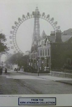 The Big Wheel and Blackpool Tower x