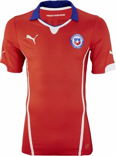 Chile 2014 World Cup Home and Away Kits Released - Footy Headlines Fifa  World Cup Jerseys dd954f4c2