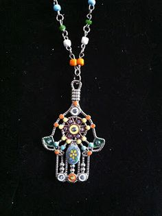 Beautiful Hamsa Daisy Alexandria Designs Jewelry